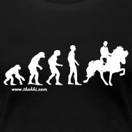 Motiv ~ Damen T-Shirt Evolution