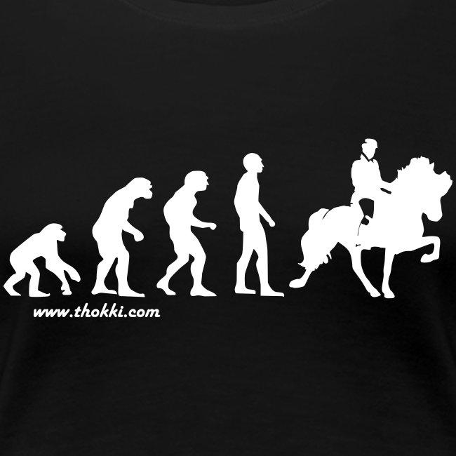Damen T-Shirt Evolution