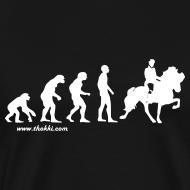 Motiv ~ Herren T-Shirt Evolution Tölt