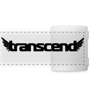 Transcend Mug - Black Print - Panoramic Mug