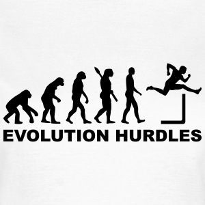 Evolution Hurdles T-Shirts - Frauen T-Shirt
