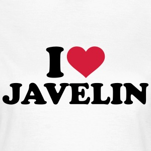 I love Javelin T-Shirts - Frauen T-Shirt