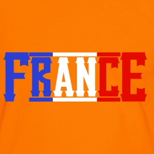 france T-shirts - Mannen contrastshirt