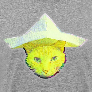 cat3eck yellow T-Shirts - Männer Premium T-Shirt