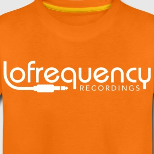Lofrequency Recordings Classic White Shirts - Kids' Premium T-Shirt