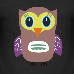 Ugly OWL T-Shirts - Men's Slim Fit T-Shirt