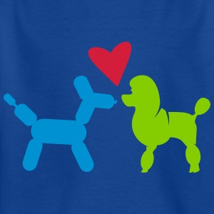 Poodle and Balloon Poodle Shirts - Kids' T-Shirt