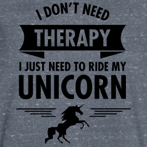 I Don't Need Therapy - I Just Need To Ride... T-Shirts - Men's V-Neck T-Shirt