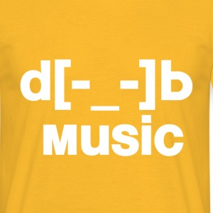 d[music]b T-Shirts - Men's T-Shirt