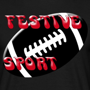Festive rugby - T-shirt Homme