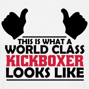 world class kickboxer T-Shirts - Men's T-Shirt