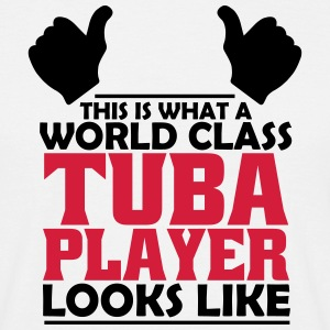 world class tuba player T-Shirts - Men's T-Shirt