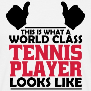 world class tennis player T-Shirts - Men's T-Shirt