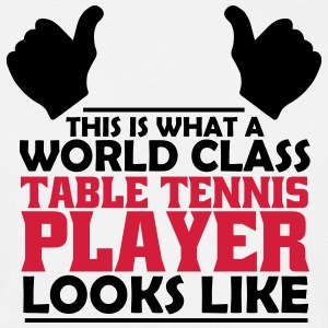world class table tennis player T-Shirts - Men's T-Shirt