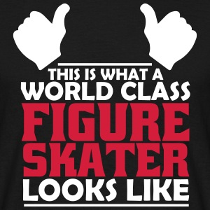 world class figure skater T-Shirts - Men's T-Shirt