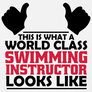 world class swimming instructor T-Shirts - Men's T-Shirt
