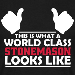 world class stonemason T-Shirts - Men's T-Shirt