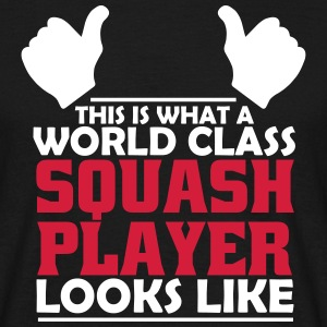 world class squash player T-Shirts - Men's T-Shirt