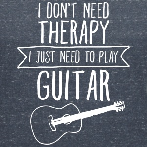 I Don't Need Therapy - I Just Need To Play Guitar T-Shirts - Women's V-Neck T-Shirt