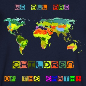 Children of the earth - Männer T-Shirt mit V-Ausschnitt