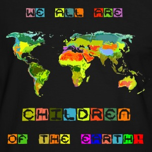 Children of the earth - Männer Kontrast-T-Shirt