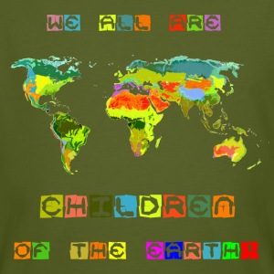 Children of the earth - Männer Bio-T-Shirt