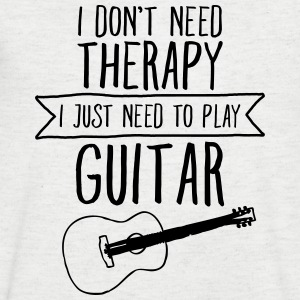 I Don't Need Therapy - I Just Need To Play Guitar T-Shirts - Men's V-Neck T-Shirt