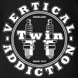Vertical Twin Addiction - All White - No Bikes