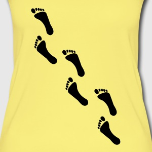 footprints, footprint Tops - Women's Organic Tank Top