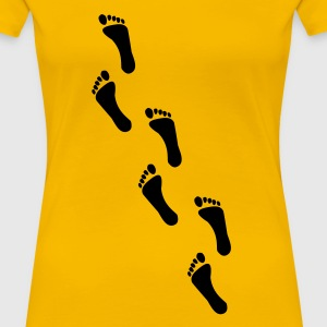 footprints, footprint T-Shirts - Women's Premium T-Shirt