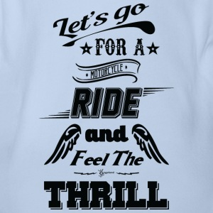 Let's go for a ride and feel the thrill - Black