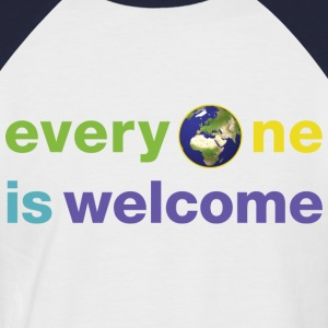 everyoneiswelcome Tee shirts - T-shirt baseball manches courtes Homme