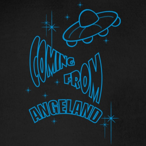 Coming From Angeland - UFO Light Blue -Small 2