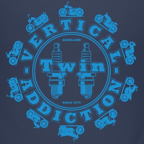 Vertical Twin Addiction - Light Blue DP - Bikes