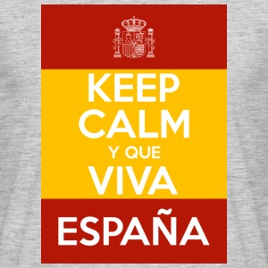 Keep Calm y que viva España T-Shirts - Men's T-Shirt