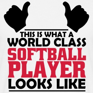 world class softball player T-Shirts - Men's T-Shirt