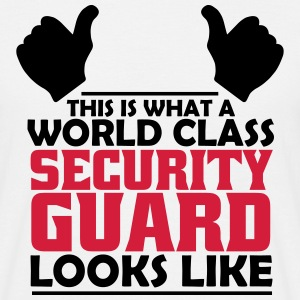 world class security guard T-Shirts - Men's T-Shirt
