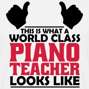 world class piano teacher T-Shirts - Men's T-Shirt