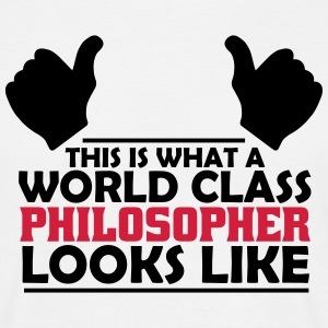 world class philosopher T-Shirts - Men's T-Shirt