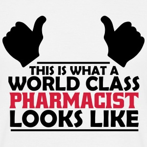 world class pharmacist T-Shirts - Men's T-Shirt