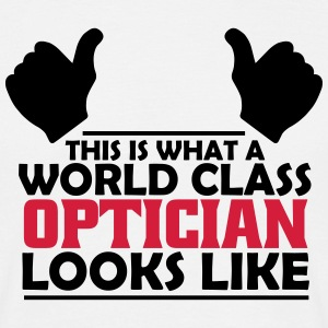 world class optician T-Shirts - Men's T-Shirt