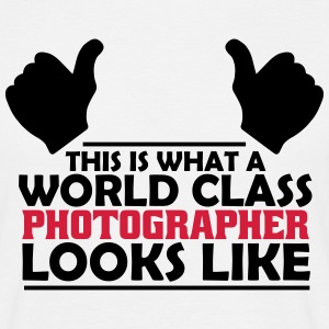 world class photographer T-Shirts - Men's T-Shirt