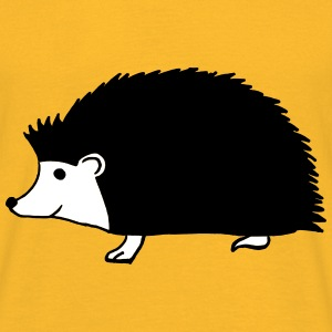 hand drawn hedgehog T-skjorter - T-skjorte for menn