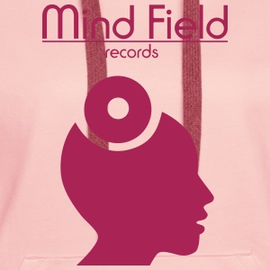 Mind Field Records - Custom Label Logo Design Pullover & Hoodies - Frauen Premium Hoodie