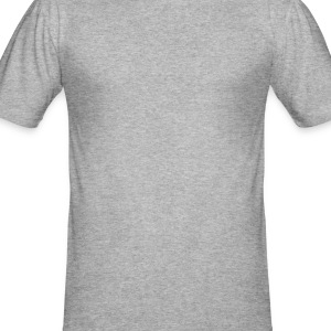 Heather grey Clover Hoodies & Sweatshirts - Men's Slim Fit T-Shirt