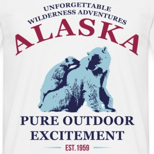 ALASKA - POLAR BEARS T-Shirts - Men's T-Shirt