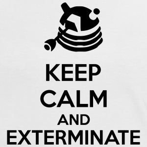 Keep Calm And Exterminate Camisetas - Camiseta contraste mujer