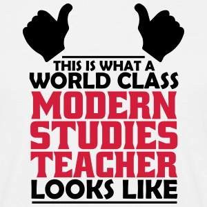 world class modern studies teacher T-Shirts - Men's T-Shirt