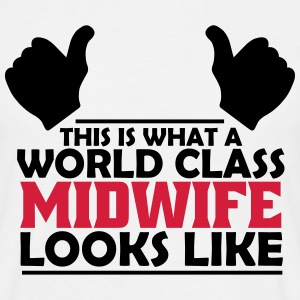 world class midwife T-Shirts - Men's T-Shirt