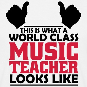 world class music teacher T-Shirts - Men's T-Shirt